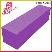 Баф для Ногтей Фиолетовый на Пенообразной Основе для Гель-Лаков и Шлифовки, Все для Маникюра и Педикюра