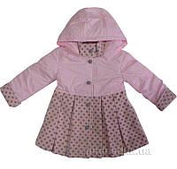 Пальто для девочки Маргарита Деньчик 7032 104