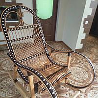 Кресло-качалка из ротанга Код 964