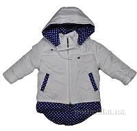Куртка зимняя для девочки Злата Деньчик 8019 92