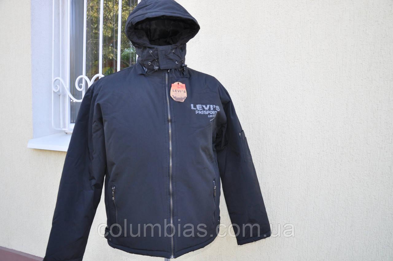 Дёшево зимняя куртка Levis  50-52