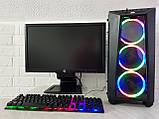 Игровой ПК + монитор 23''  Intel Core i5 3570, GeForce GTX 1060 3Gb, DDR3 8Gb, 500Gb, фото 2