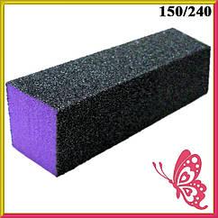 Баф Шлифовочный Четырехсторонний Профессиональный Черно Фиолетовый на Пенообразной Основе Поштучно