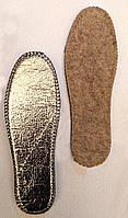Стелька толстый войлок на фольге 36-46р размерная  полномерная, фото 1