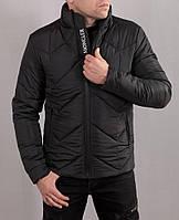 Мужская зимняя стильная куртка на плотной плащевке
