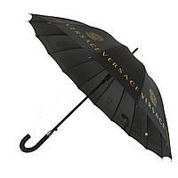 Зонтик-трость полуавтомат Max NEW LOOK Черный