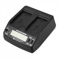 ALLBATTERY Dual Charger For Sony NP-F960/970 BC-BQ1051C