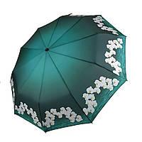 Автоматический складной зонтик Flagman Lava Темно-зеленый