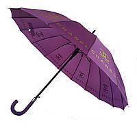 Зонтик-трость полуавтомат Max NEW LOOK Фиолетовый