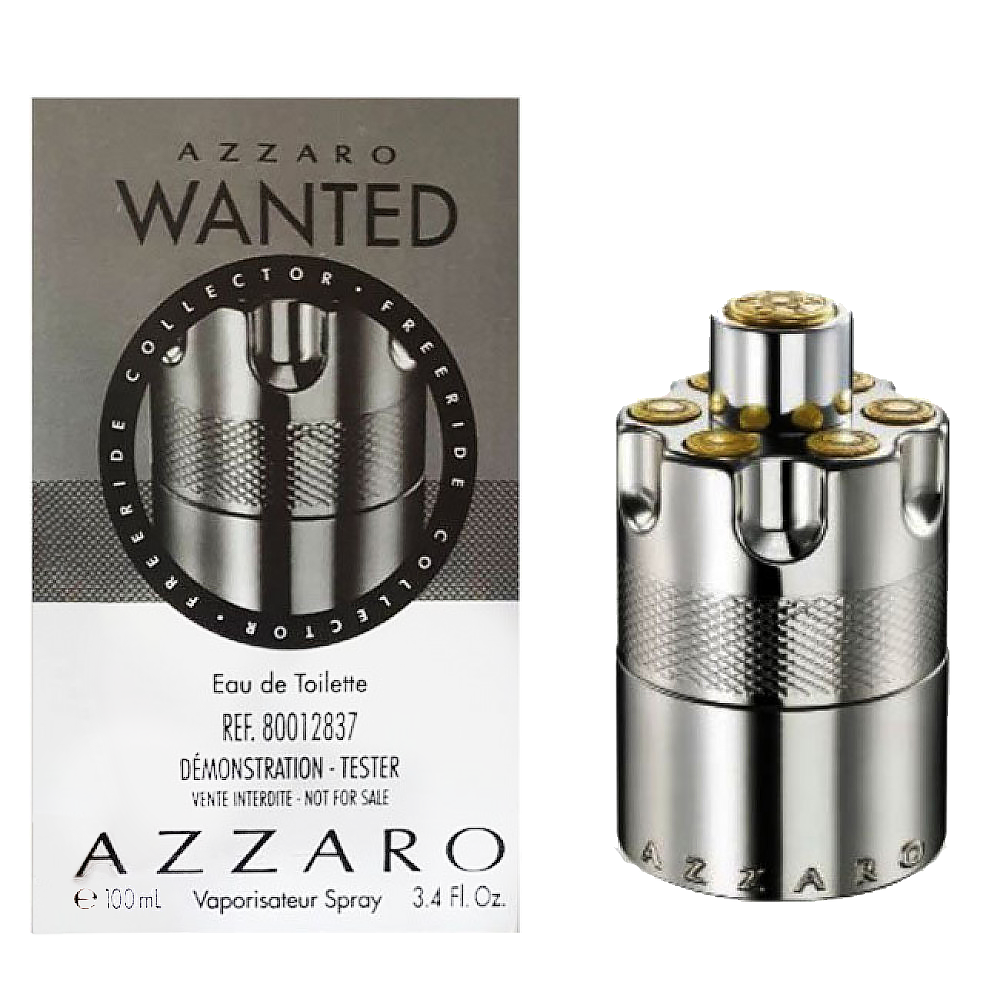 Тестер мужской Azzaro Azzaro Wanted Silver Collecto, 100 мл