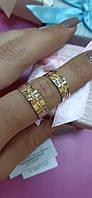 Золотые обручальные кольца 585 пробы., фото 1