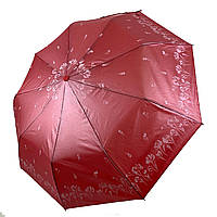 Зонт-полуавтомат Lantana с напылением Красный складной