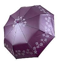 Зонт-полуавтомат Lantana с напылением Фиолетовый складной