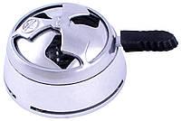Калауд для кальяна в картонной коробке D524 Silver