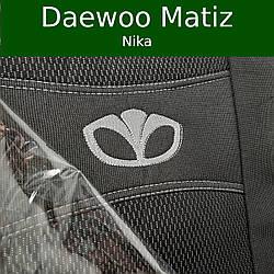 Чехлы на сиденья Daewoo Matiz (Nika)