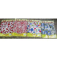 "Кухонный набор прихваток Stenson ""Fruit"" в наборе рукавица, прихватка, полотенце, 34х27см, набор для кухни, кухонная рукавичка, прихватка для горячего"