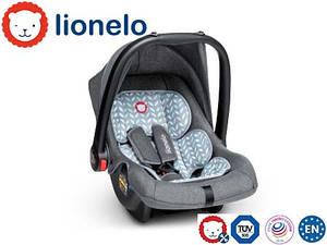 Детское автокресло Автолюлька Lionelo Noa Plus (0-13 кг) Scandi Польша