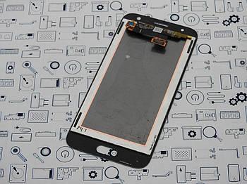 Дисплей Samsung J330F Galaxy J3 2017 модуль серый Сервисный оригинал с разборки