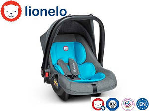 Детское автокресло Автолюлька Lionelo Noa Plus (0-13 кг) Vivid Turquoise Польша