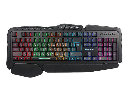 Клавиатура Real-El Gaming 8900 .
