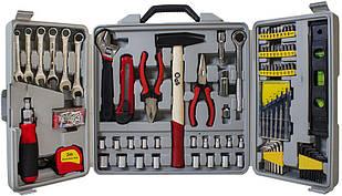 Набор инструмента 173 элементов в кейсе. Арт 78-0349