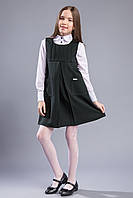 Сарафан школьный для девочки Brilliant Lusia черный 18204