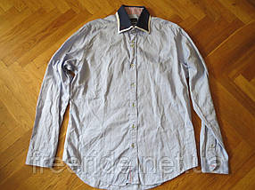 Фирменная стильная рубашка ZARA MAN (L), фото 3
