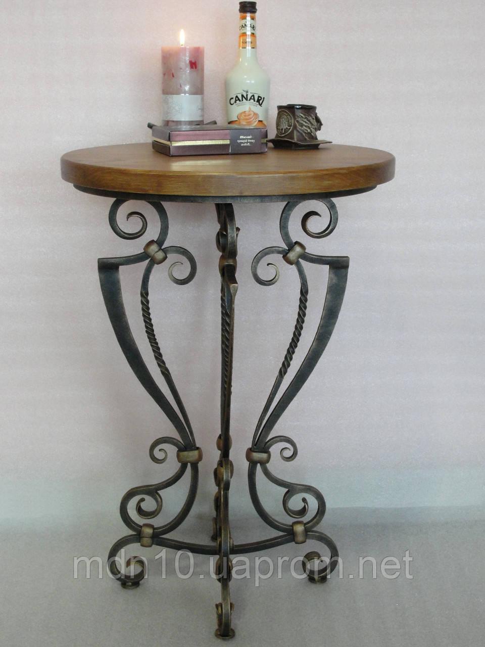 Столик  кофейный  кованый (MS-KSK-03-D50)