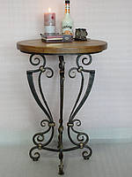 Столик  кофейный  кованый (MS-KSK-03-D50-72)