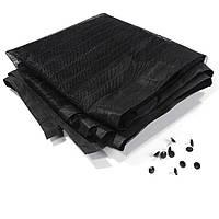 Анти москитная сетка штора на магнитах Magic Mesh Черный 100 х 210 см