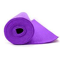 Йогамат MS 1847 фиолетовый, коврик для фитнеса, каремат
