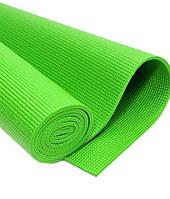 Йогамат MS 1847 зеленый, коврик для фитнеса, каремат