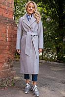 Брендовое кашемировое длинное пальто Миссури макси 6398, фото 1