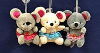 Мягкая игрушка Мышка в юбке (13 см) №AZS-161