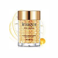 Легкий крем-гель для очей з нової серії Images Bright and Moisture Gold Eye Cream