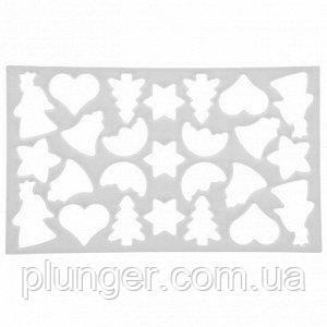 Вирубки для печива Новорічне асорті