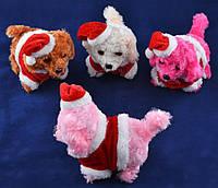 Мягкая игрушка Собачка Новогодняя (Механика) №427-8