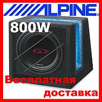 Сабвуфер ALPINE SBG-1044BR (пасивний, 500/150 Вт)