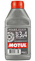 Motul DOT 3&4 Brake Fluid 0.5L