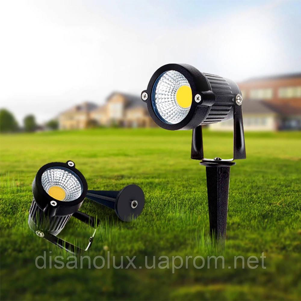 Светильник ландшафтный OL-01 Spike в грунт COB LED 5W / 3000K 230V IP65