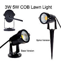 Светильник ландшафтный OL-01 Spike в грунт COB LED 5W / 3000K 230V IP65, фото 3