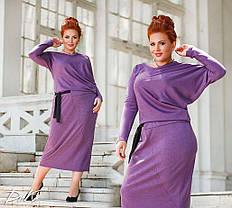 Оригинальное платье миди длины, фото 3