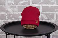 "Детская шапка ""Grant"", марсала, фото 1"