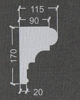 Карниз гипсовый Кг-25, фото 1