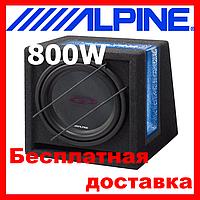 Сабвуфер ALPINE SBG-1224BR ( пасивний 250/800 Вт,2 Ом)