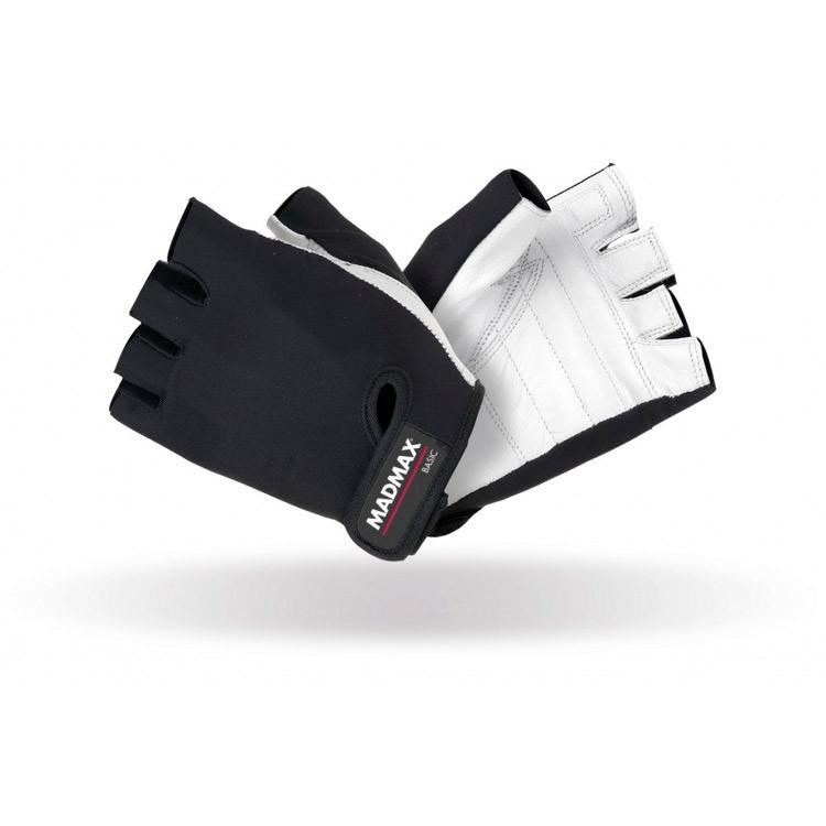 Перчатки Mad MaxBasic Workout Gloves MFG-250 (размер XL) white/black
