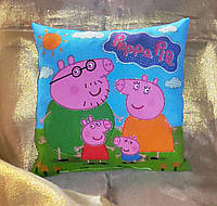 Декоративная детская подушка Свинка Пеппа (Peppa Pig)