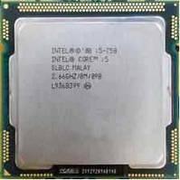 Процессор Intel Core i5-750 2.66GHz/8M/09B SLBLC, s1156 (BX80605I5750), Tray, б/у