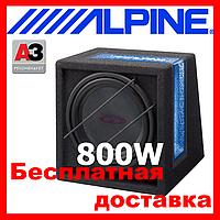 Сабвуфер ALPINE SBG-1244BR ( пасивний 250/800 Вт.4 Ом)