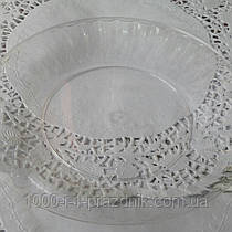 Стеклопласт тарелка прозрачная 1 шт.